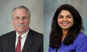 Dr. Michael Whitaker, Dr. Krupa Doshi