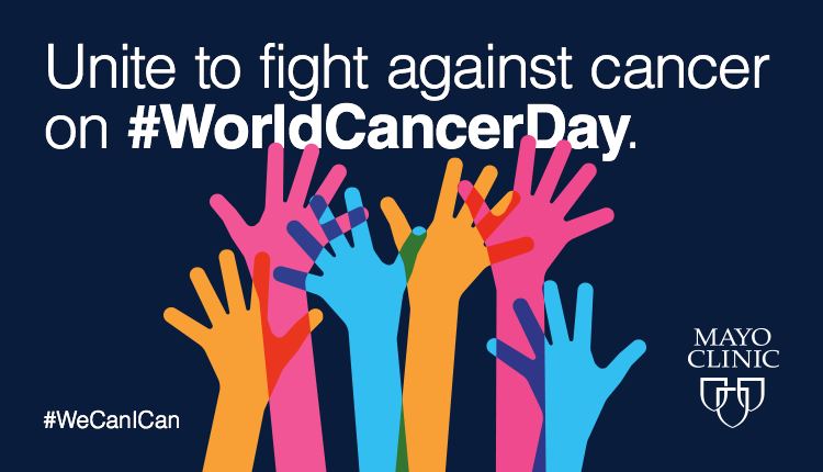 Graphic about world cancer day