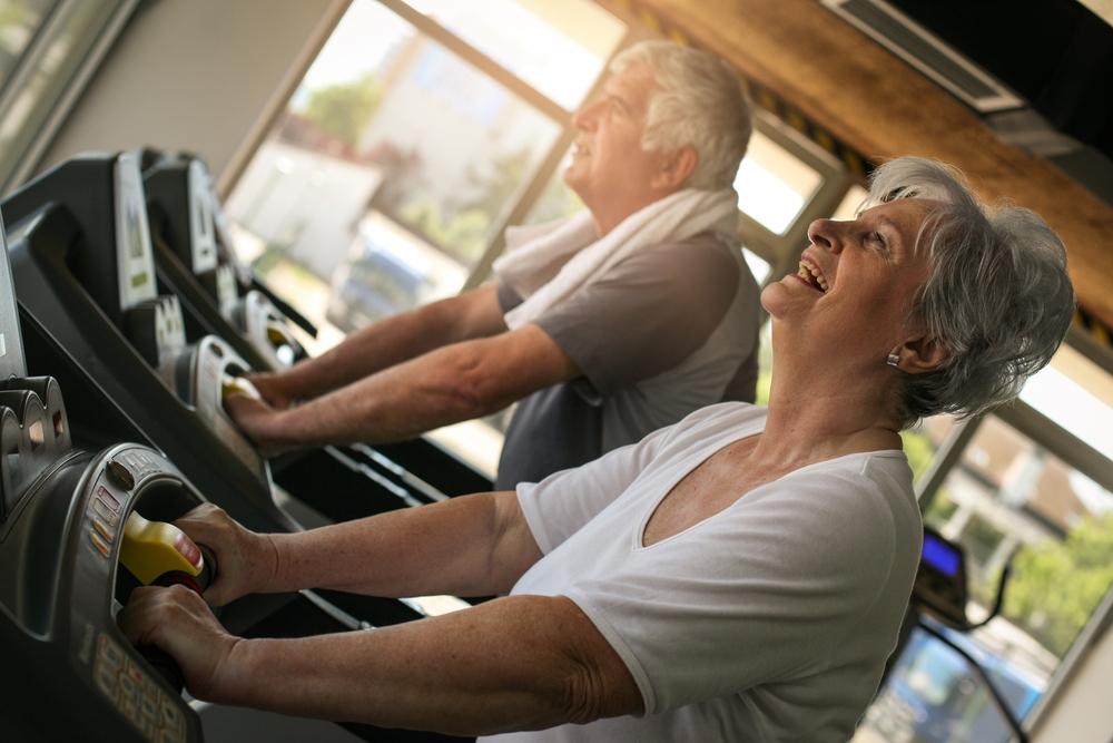 Couple on Treadmill