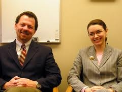 Dr. Smith and I on MPR in 2006 with HABIT Begginings