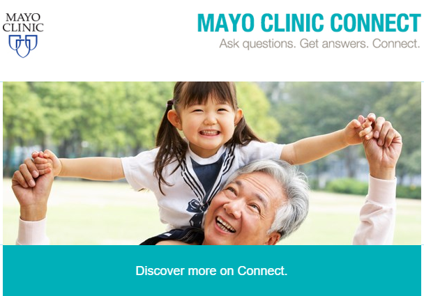 Discover Mayo Clinic Connect