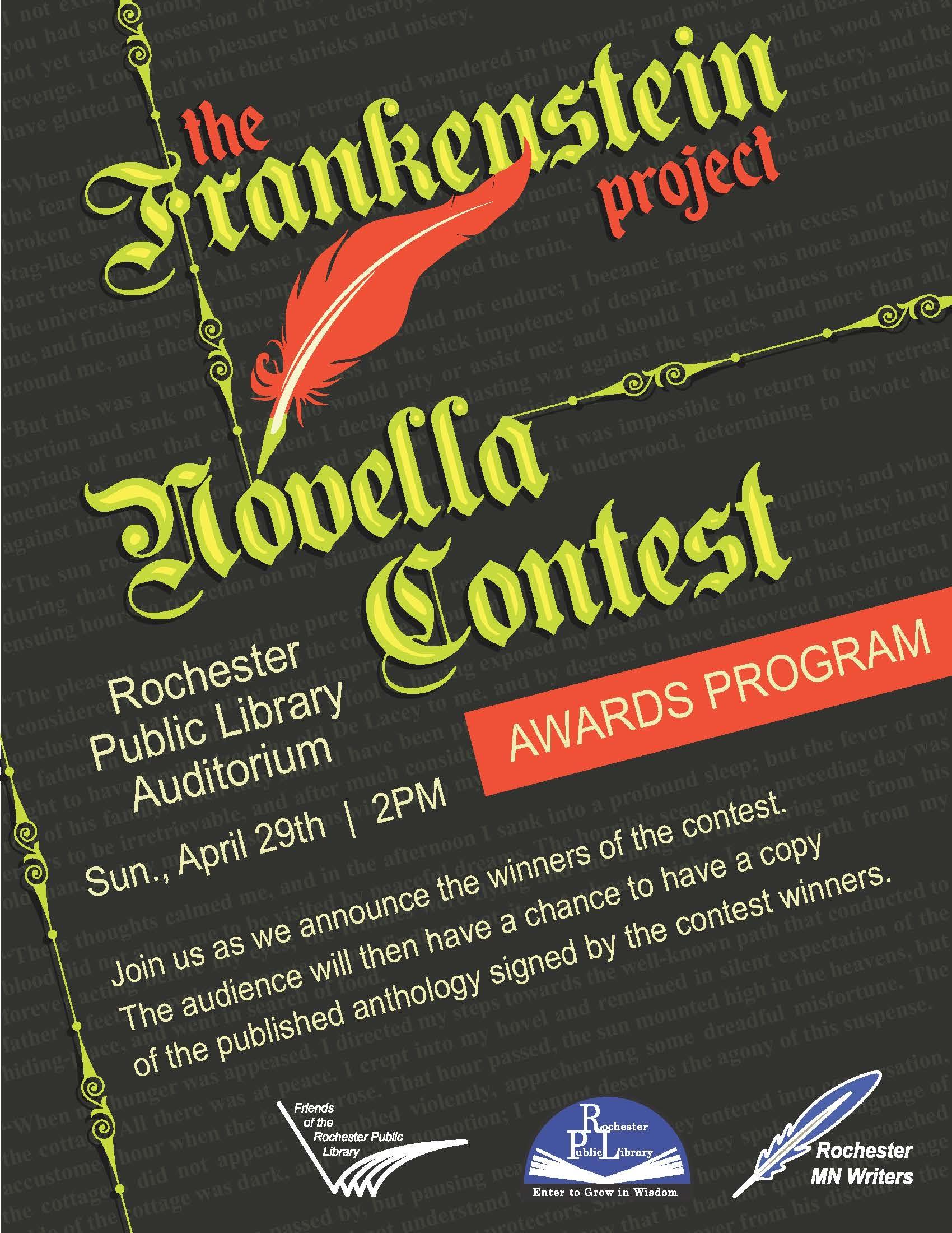 Frankenstein Novella Poster_awards_poster