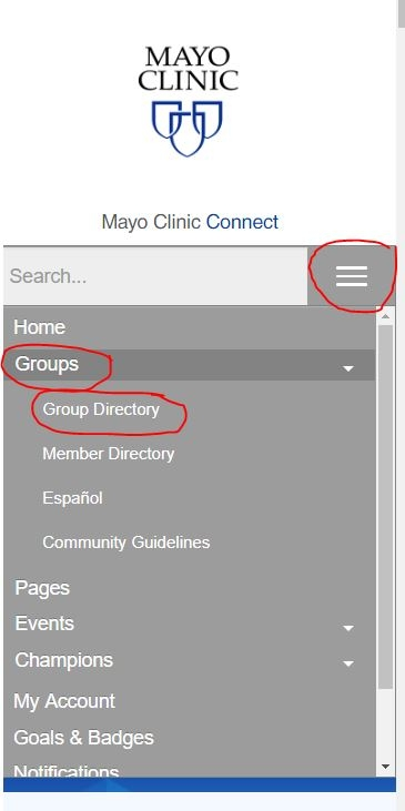 Finding the Group Directory