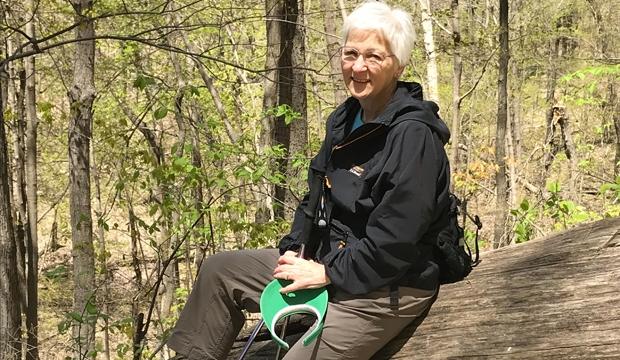 2018-7-16 Rosemary Hiking, Mentor Spotlight