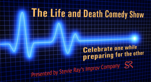 Life and Death Comedy Show Logo
