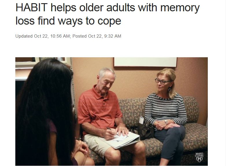 HABIT Helps Older Adults with Memory Loss Find Ways to Cope