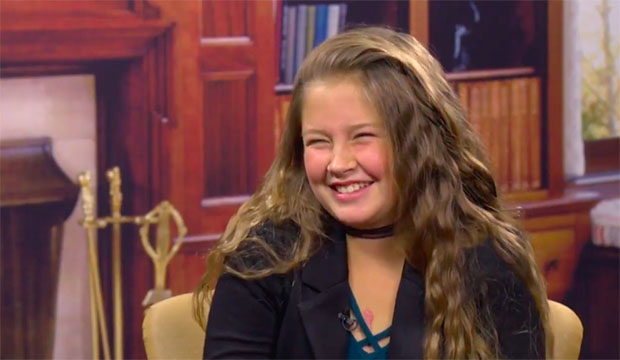 Young gymnast reflects on heart surgery