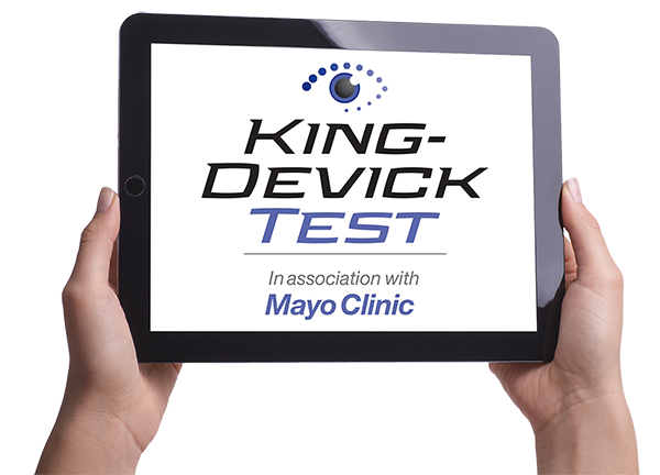 King Devick concussion test in association with Mayo Clinic
