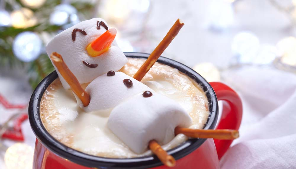 Hot Chocolate Snow Man