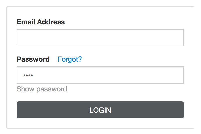 Login Tip: Show and Hide Your Password