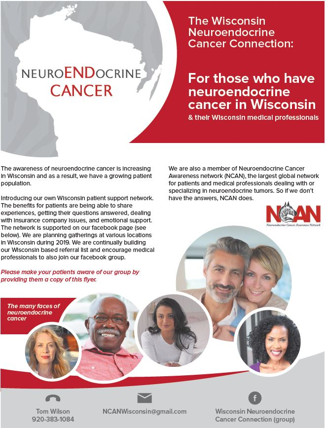 Wisconsin Neuroendocrine Cancer Connection