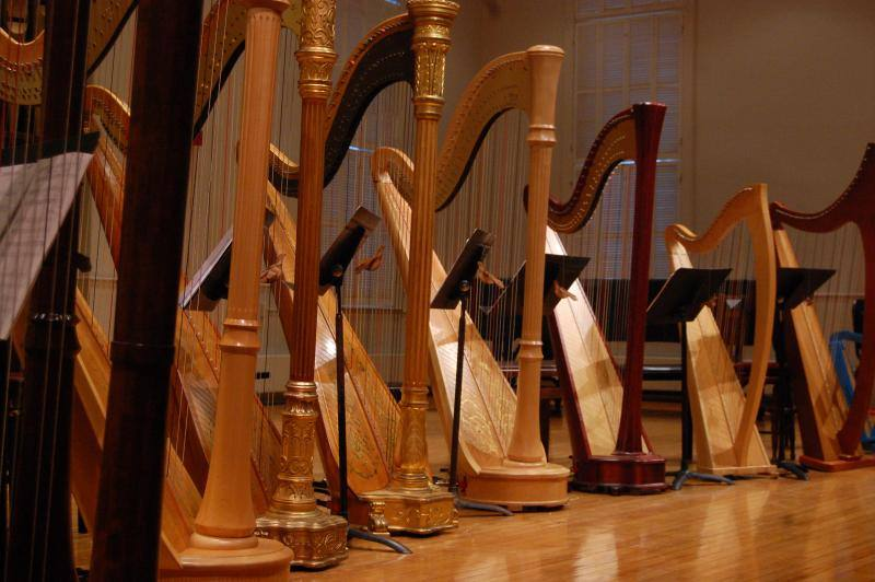 Monthly Concert Series: The Jacksonville Harp Ensemble