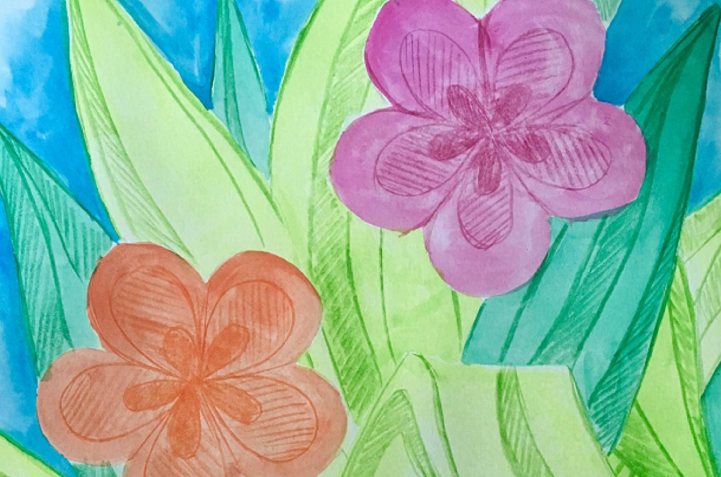 Art is Good Medicine - Mangurian Art Table