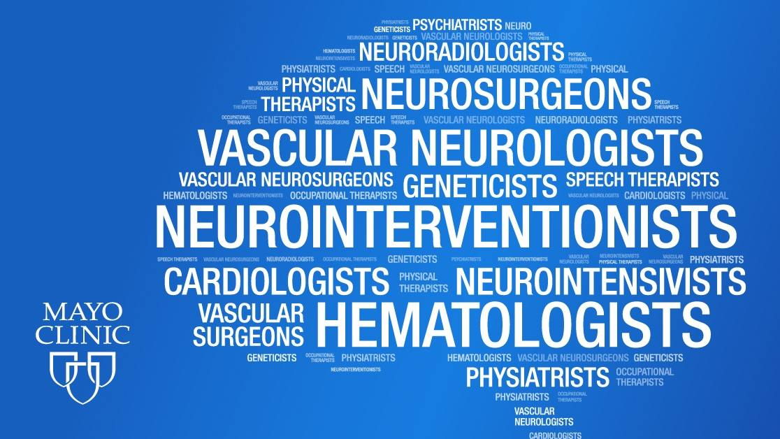 Mayo Clinic Stroke Word Cloud