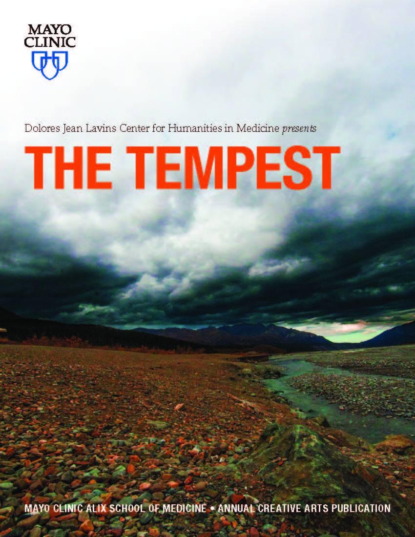 The Tempest   Mayo Clinic Alix School of Medicine Creative Arts Publication