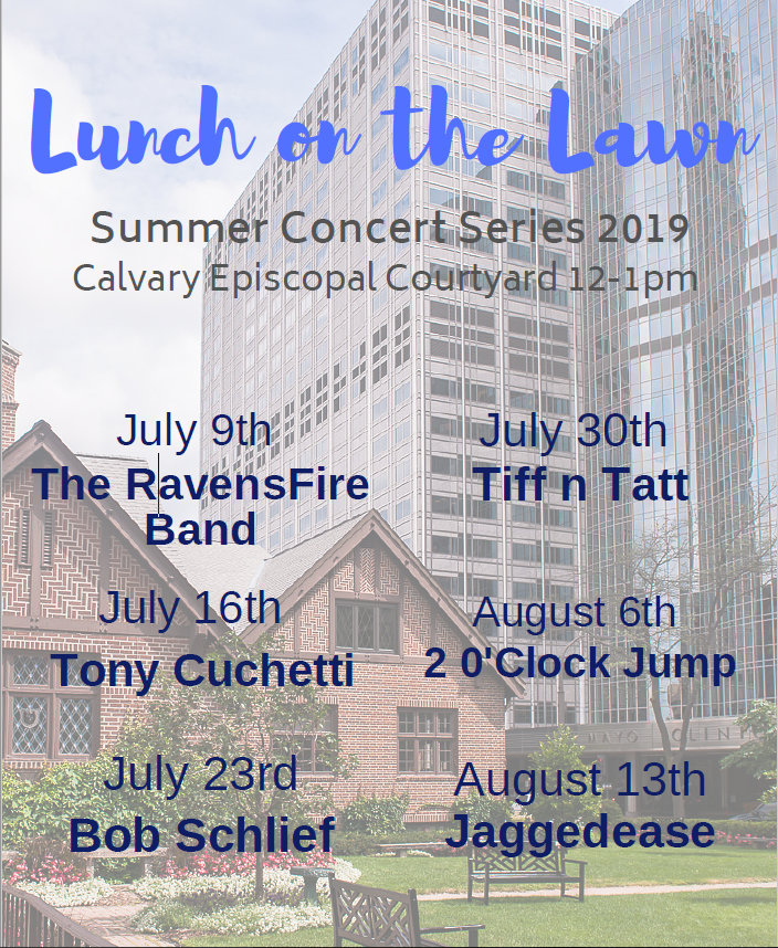Lunch on the Lawn Summer Concert Series
