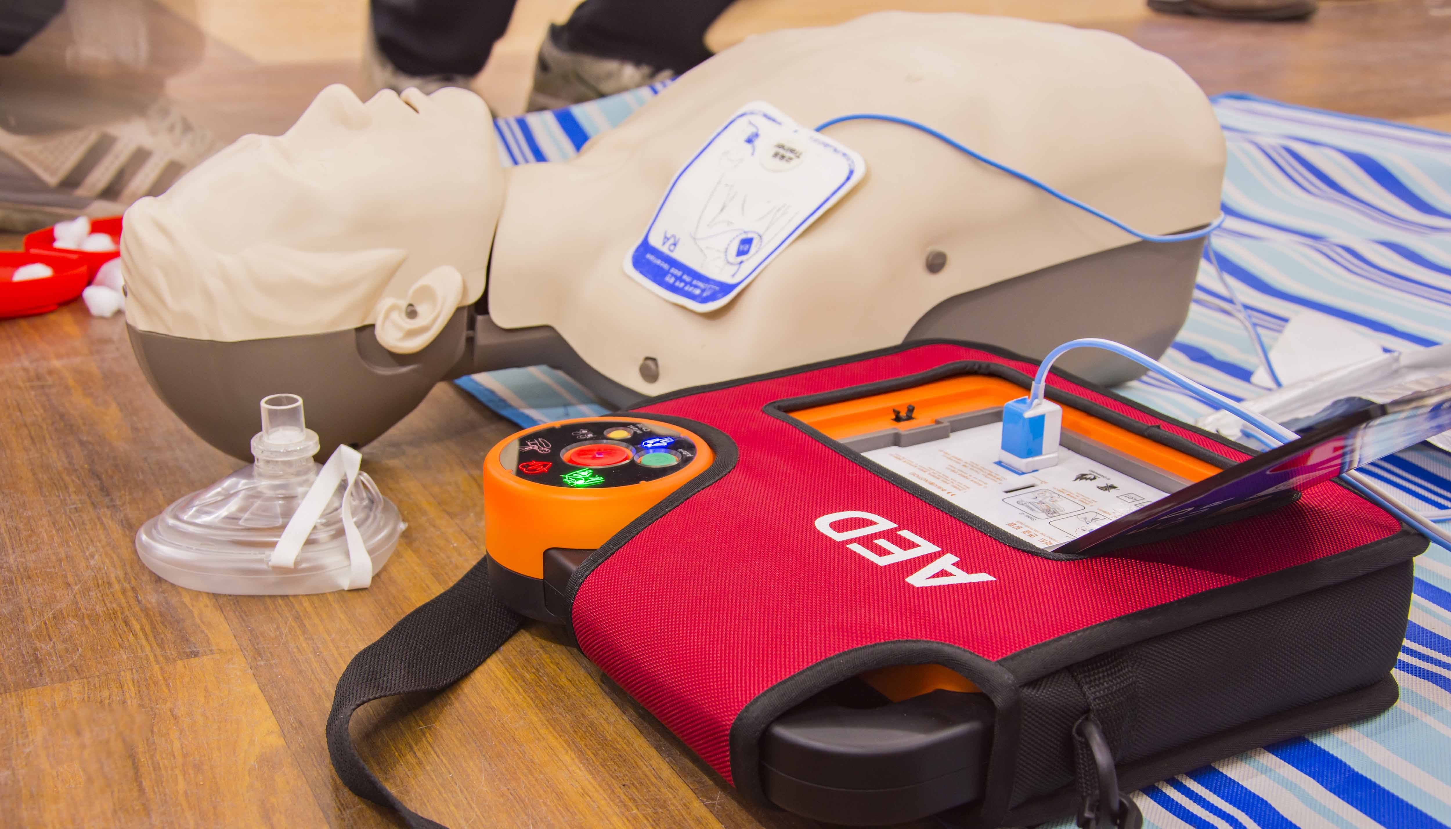 Saving Lives With Gus: Automated External Defibrillator (AED)