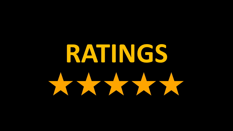Your Ratings and Reviews Matter