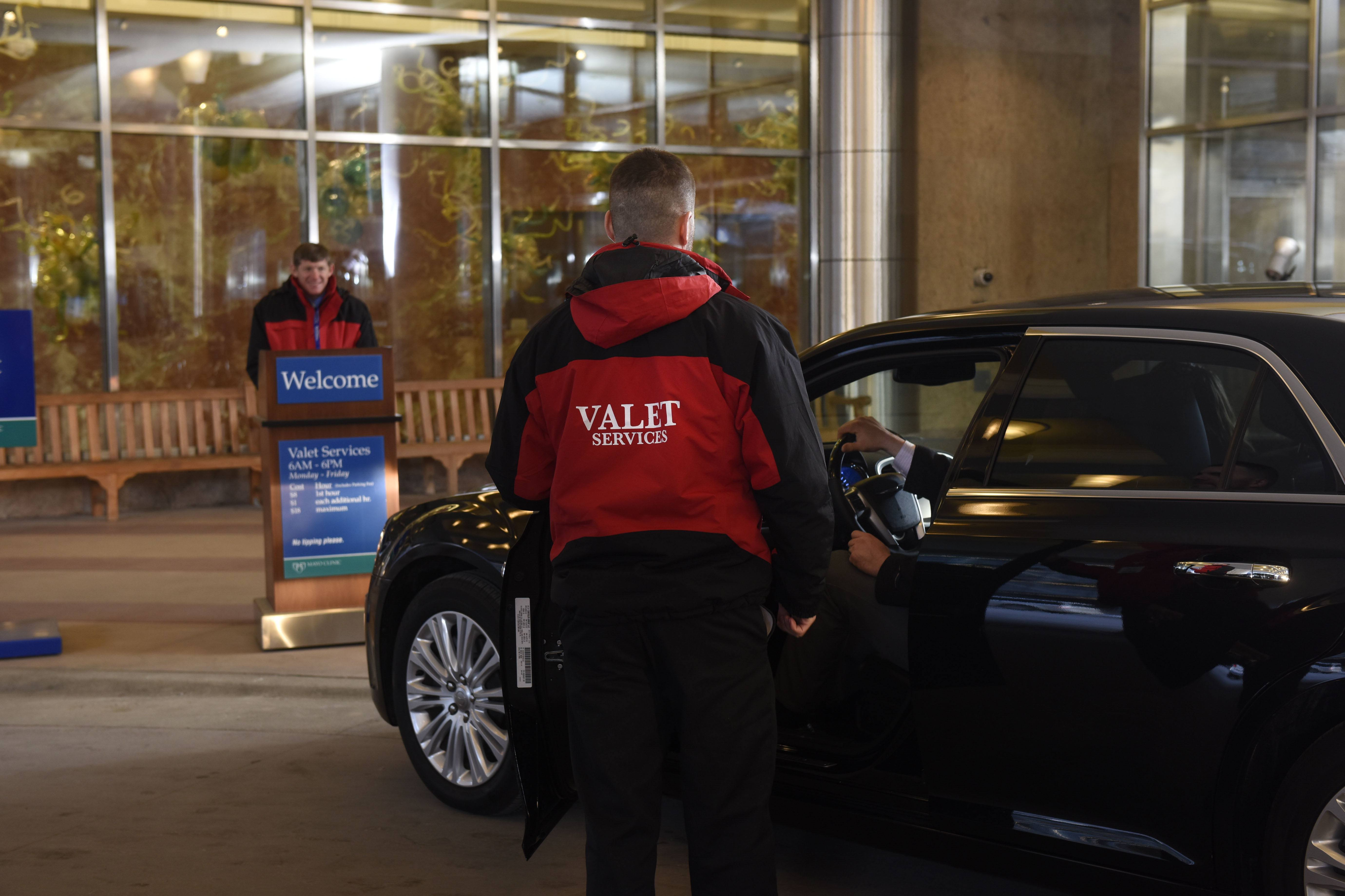 Mayo Clinic Valet Parking Available for Patients and Patient