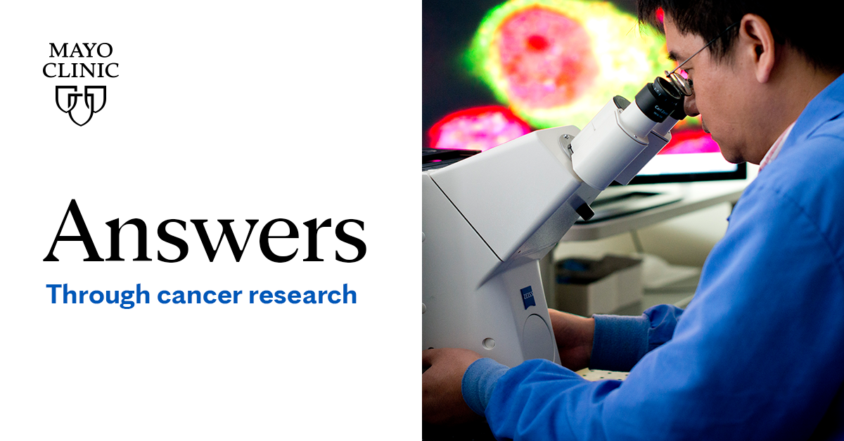 Share Answers through cancer research – Clinical Trials