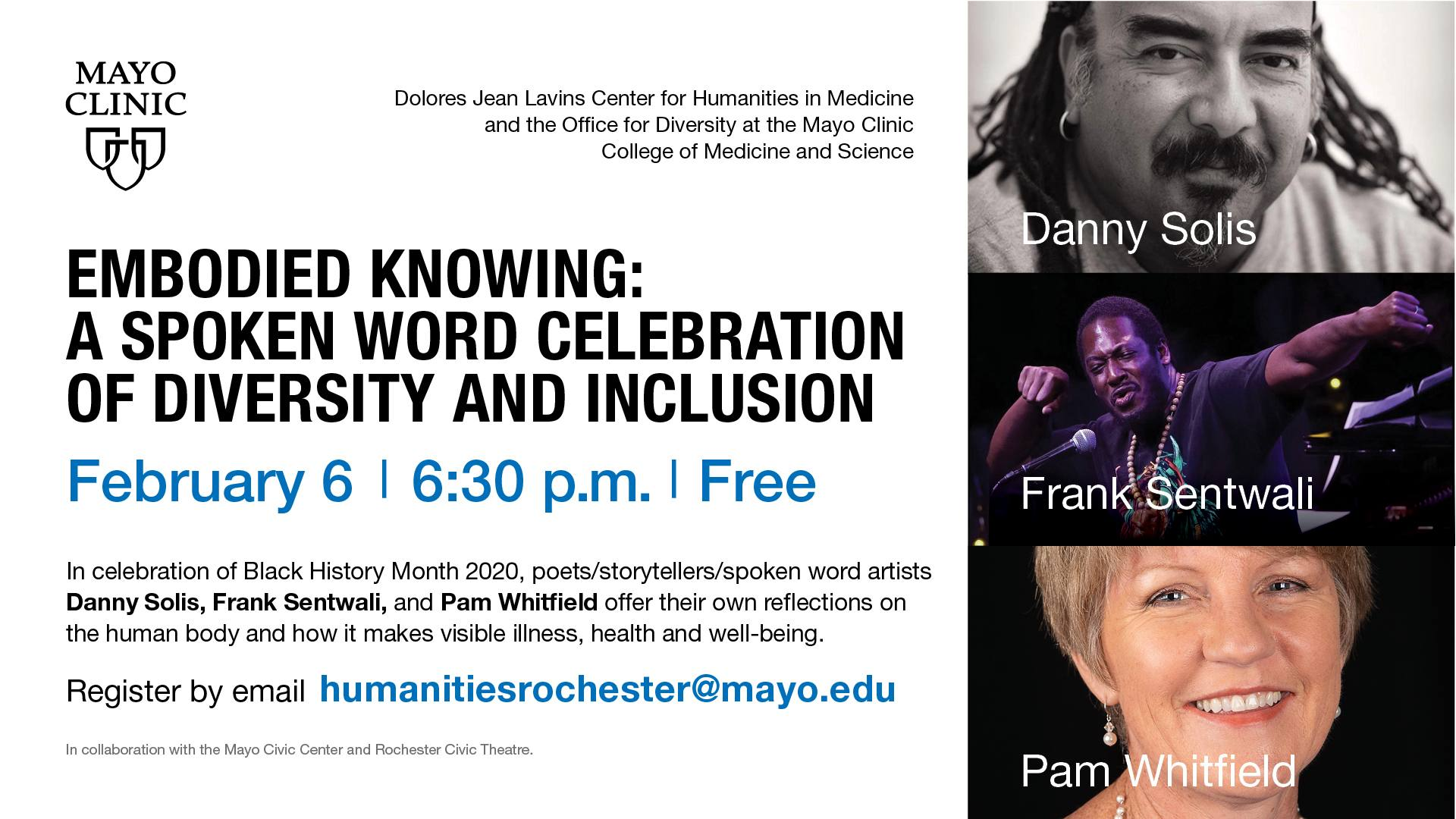 Embodied Knowing: A Spoken Word Celebration of Diversity and Inclusion
