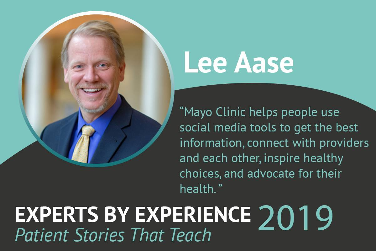 Experts by Experience quote from Lee Aase