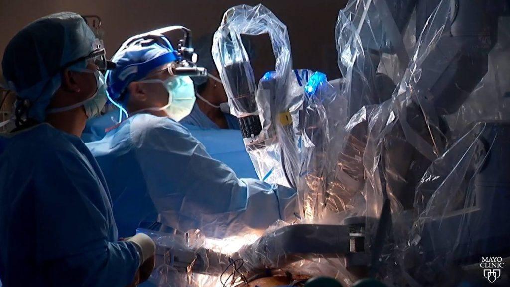 Robotic mitral valve repair