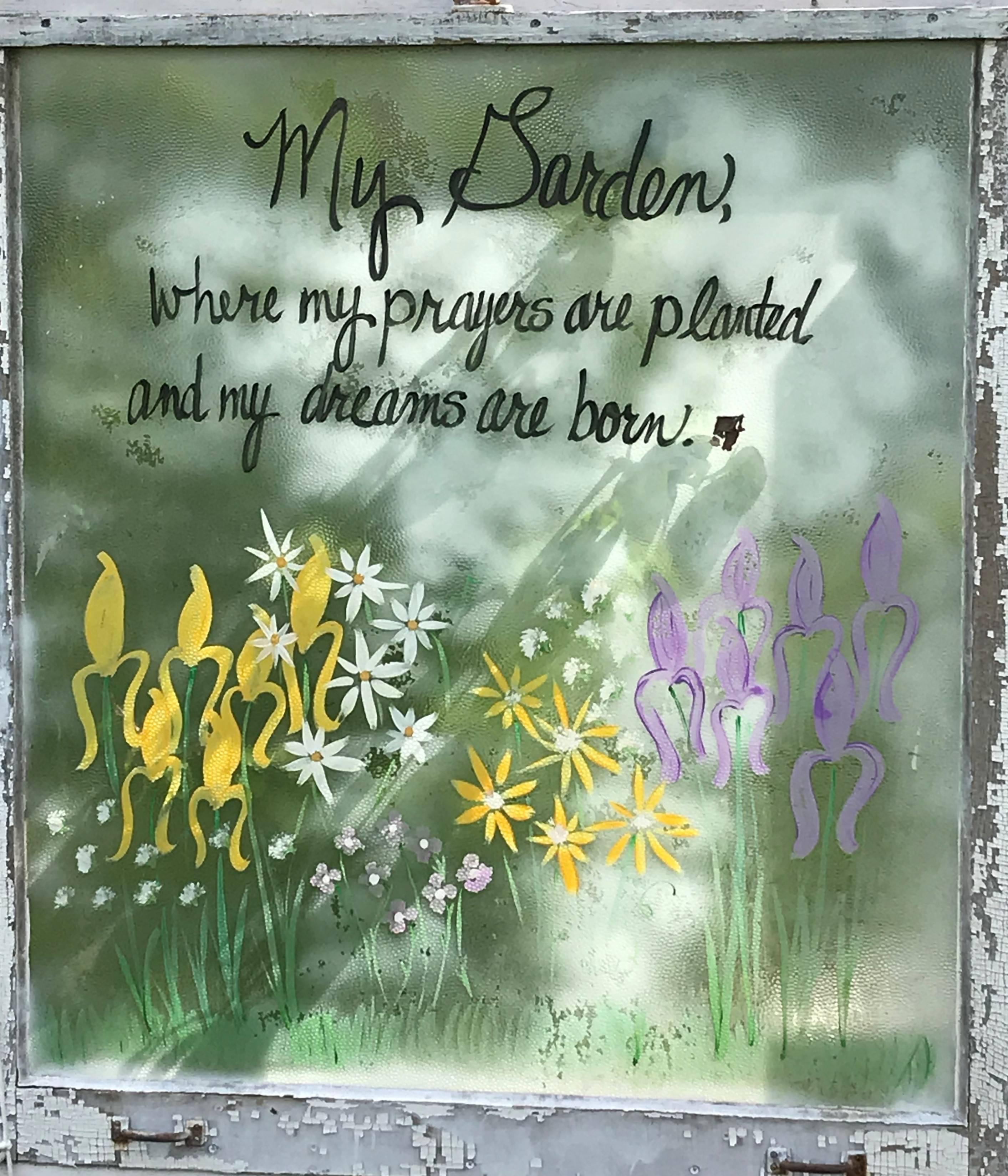 Garden message