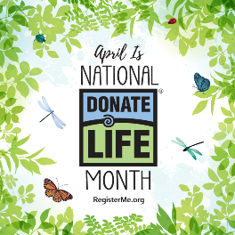 04-2020 National Donate Life Month Blog