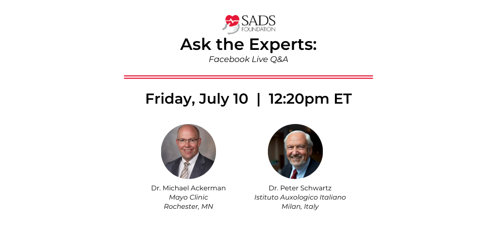 Join Dr. Peter Schwartz and Dr. Ackerman for a Q&A session!