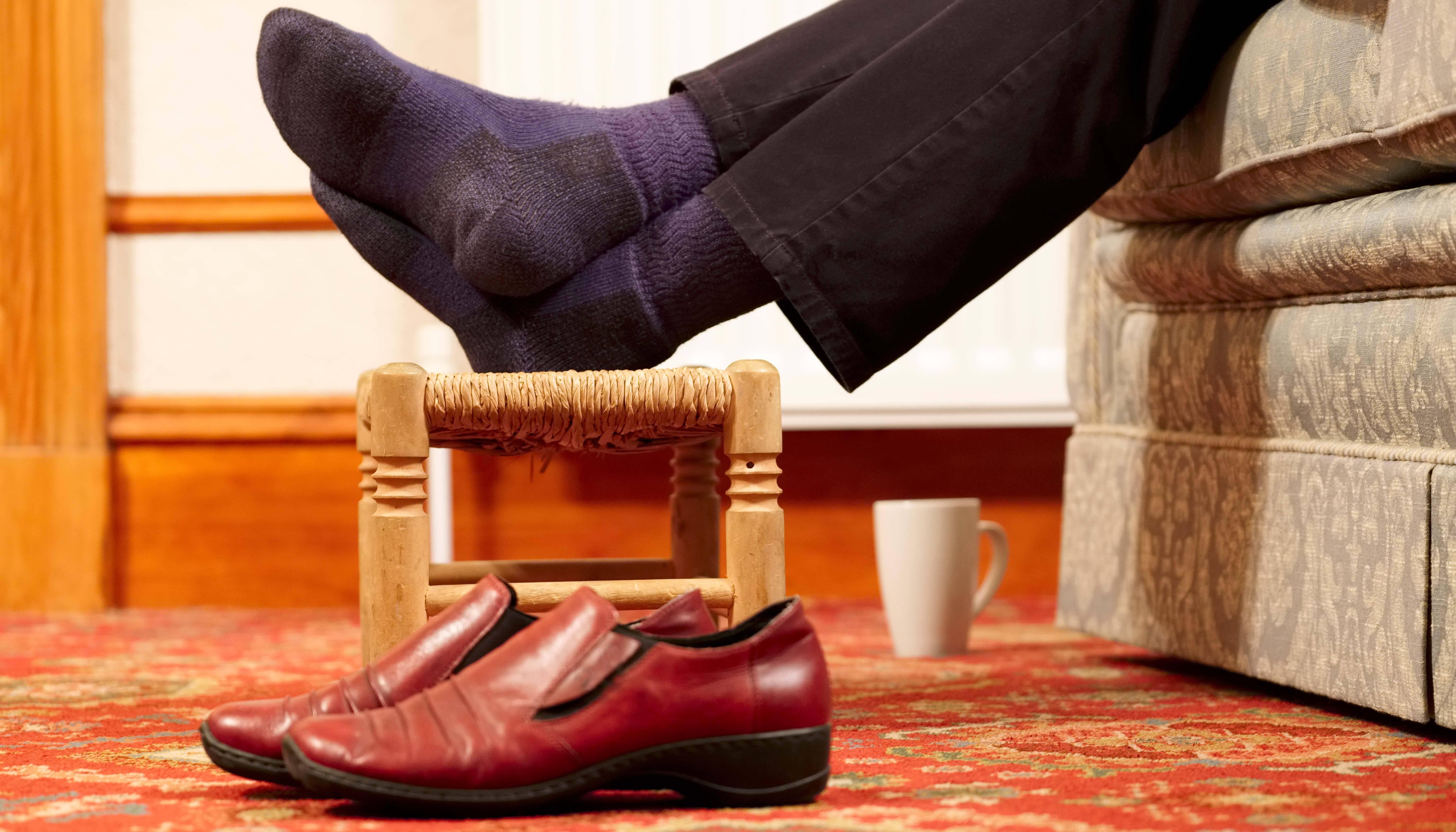 Reducing foot odor