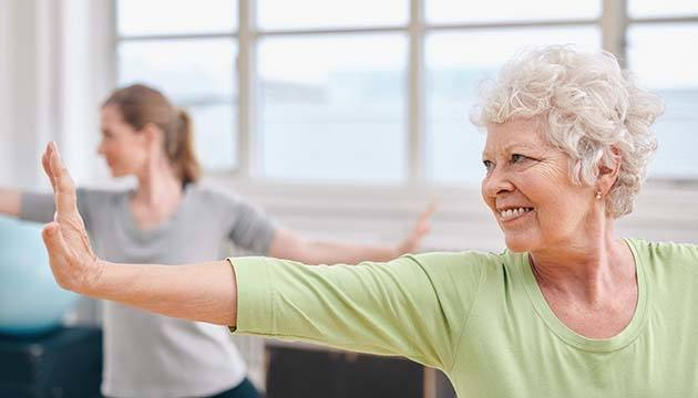 Yoga's Impact on Physical Function in those with MCI and Care Partners