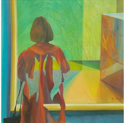 """Tour """"Expressions of Clinician Well Being"""" virtually or  at Rochester Art Center"""