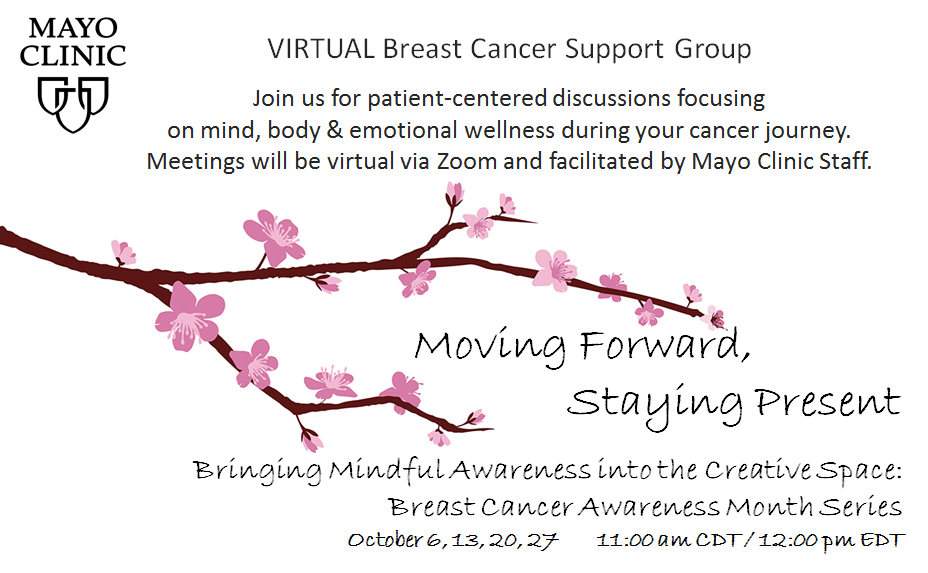 VIRTUAL Breast Cancer Support Group