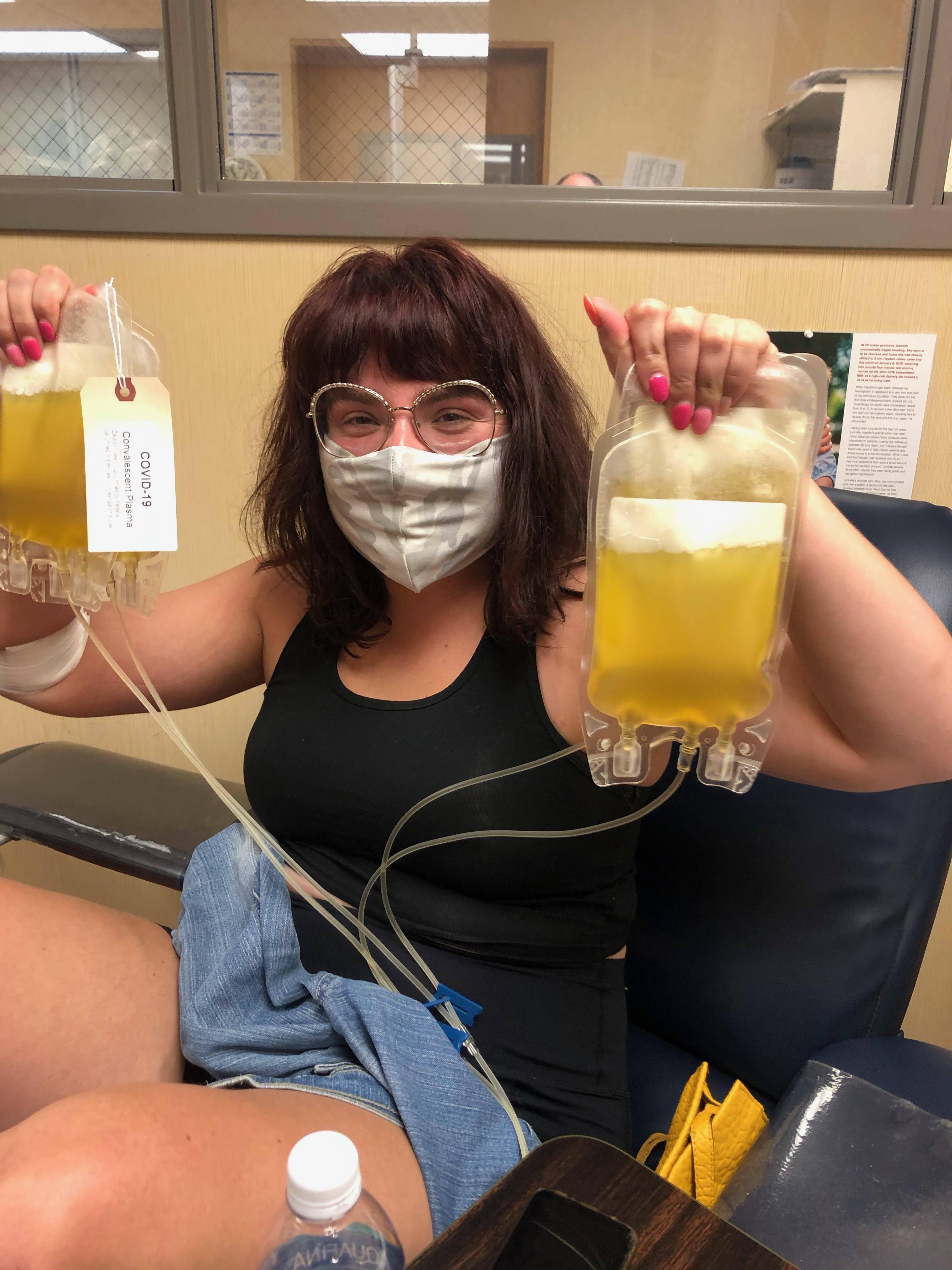 A Convalescent Plasma Donor's Story: Maggi
