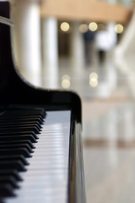 Gonda Building piano