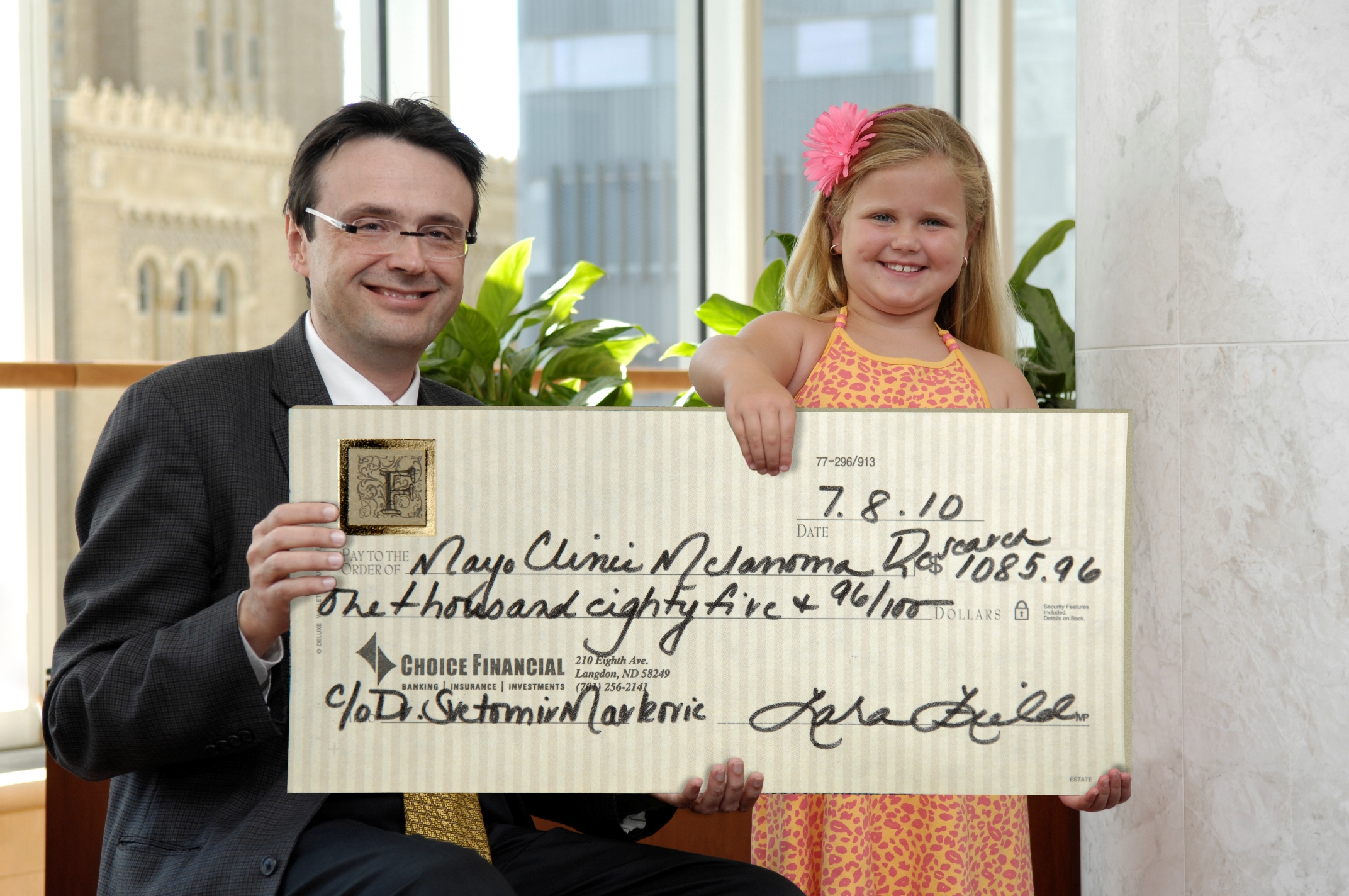 Emma and Dr. Svetomir Markovic