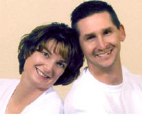 Rob Clary and his wife