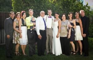 Bobbie Sofia and her family
