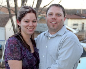 Amanda Mattheisen and fiance Chuck