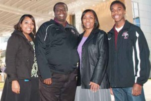 Rodney McDougal and his family