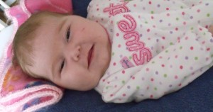 A picture of baby Madison