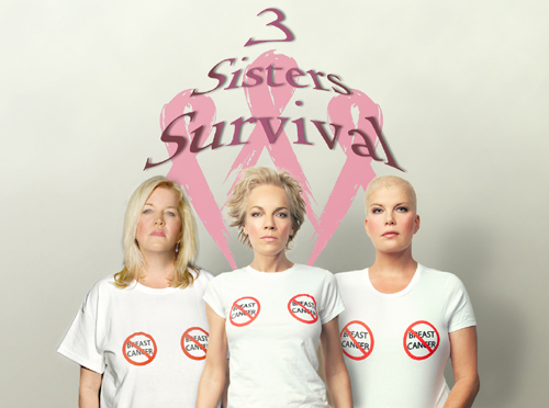 Three sisters battle breast cancer