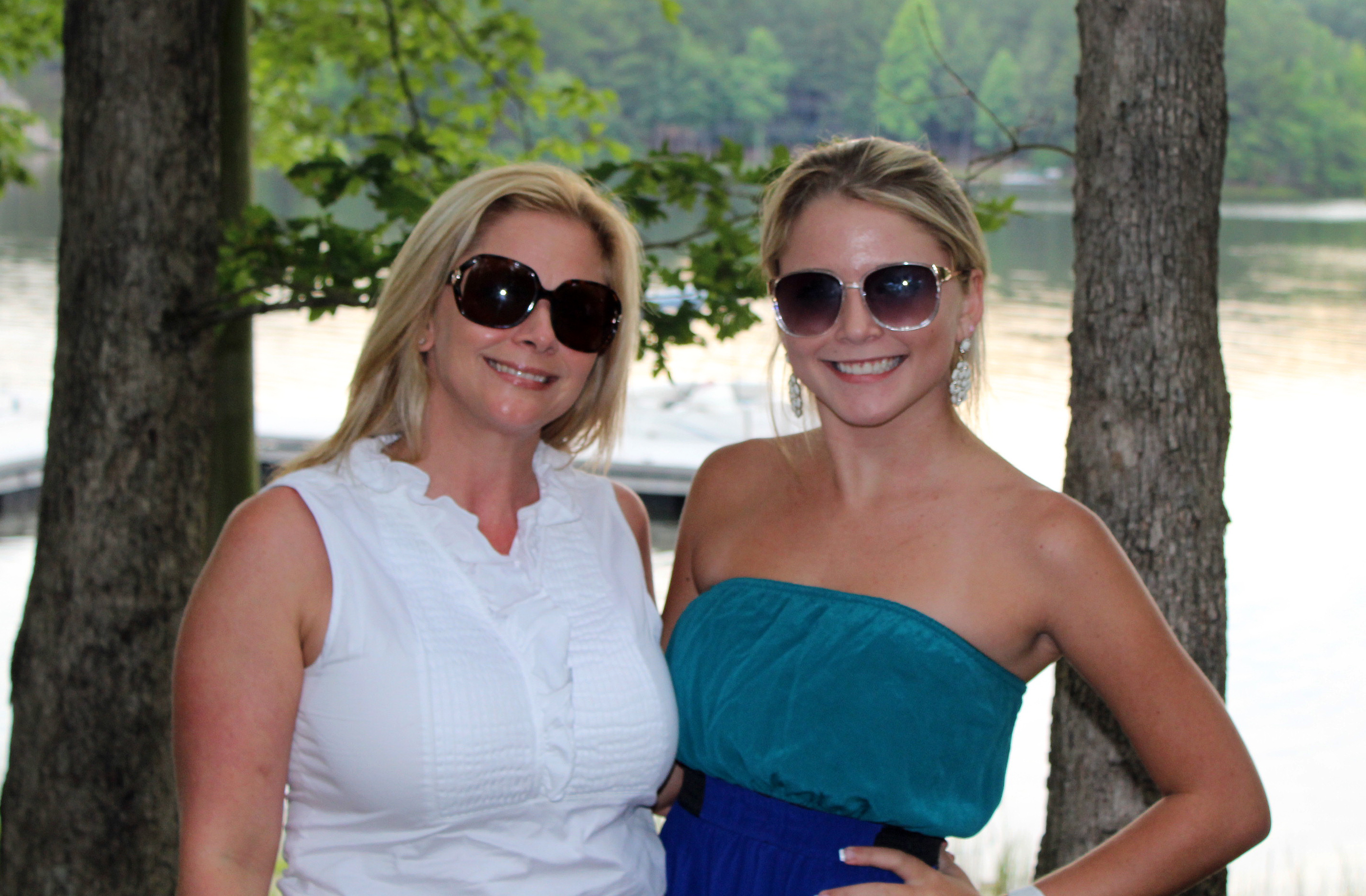 Anna and her daughter, Taylor, vacationing last summer in Mount Eagle, TN.