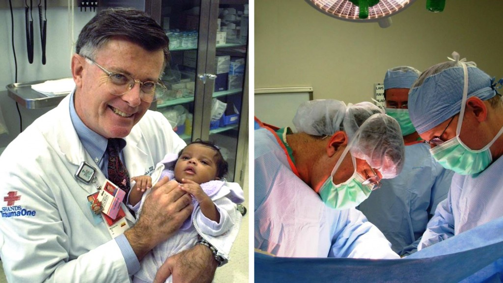 Joseph J. Tepas III, M.D., a 68-year-old pediatric surgeon in Jacksonville, Florida, who had idiopathic pulmonary fibrosis and later a lung transplant at Mayo Clinic in Florida.