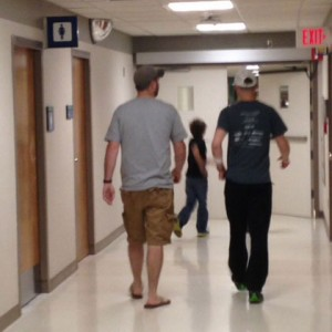 Walking helped both Todd and Marty make a speedy recovery after surgery.