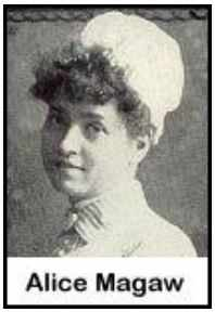Alice Magaw, an early Mayo Clinic nurse anesthetist
