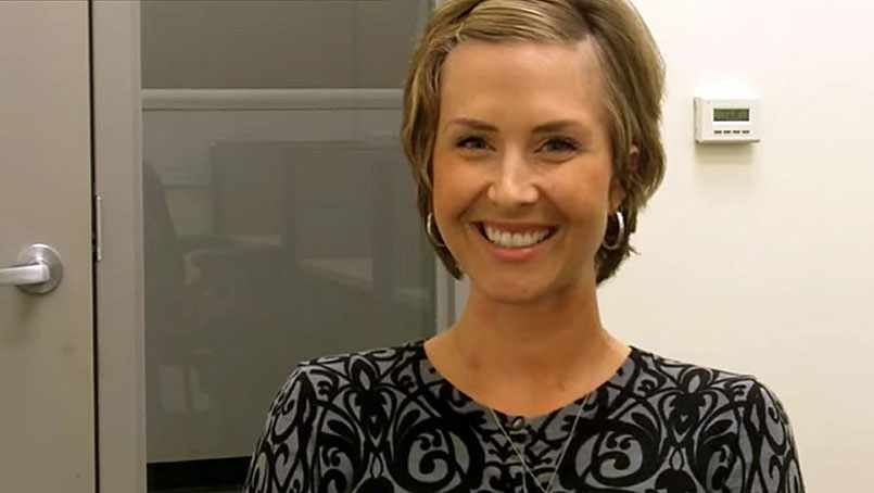 Dawn DeCook-Gibson shares her story of breast cancer treatment at Mayo Clinic..