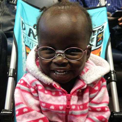With the help of Mayo Clinic and Hands for Humanity, Aisha has a repaired heart, new glasses and  hope for the future.