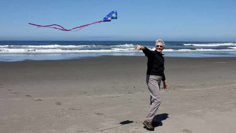 Mary Daugherty is now able to enjoy the little things like flying a kite after a deep brain stimulation procedure to stop her tremor.